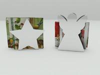 3d kitchen napkins model