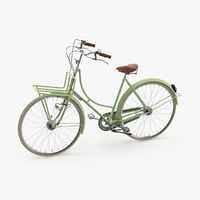 vintage bicycle 3d model