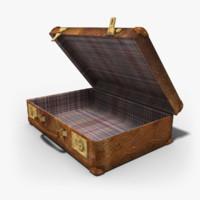 case suitcase 3d max