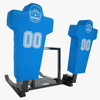 football dummy training 3d max