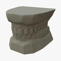 teeth mold 3d ma
