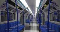 max london metro train