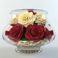 3d model roses aquarium