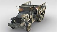 gmc cckw army cargo truck ma