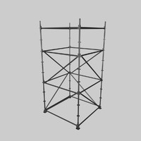 layher scaffold 3d 3ds