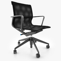 vitra physix office chair 3d max