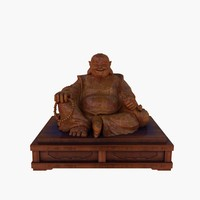 buddha chinese 3d model