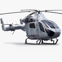 MD902 Recon Helicopter