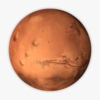 3d model mars moons 16k
