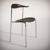 3d ch88 chair carl hansen model