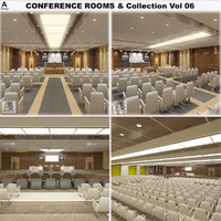 conference rooms vol 06 3d model