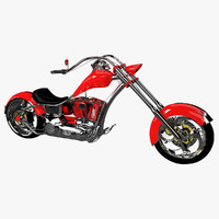 3d custom chopper design