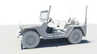 obj jeep mutt