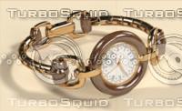 watch bamboo 3d model
