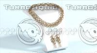 3d jewelry set