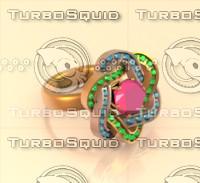 3d jewelry gems model