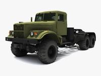 3d model kraz 255
