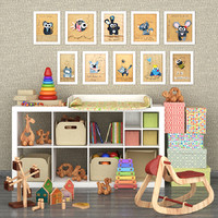 set children 3d max