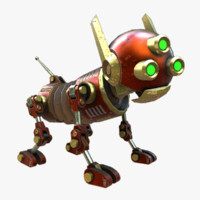 robot dog steampunk max