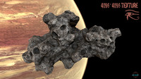 3d model asteroid