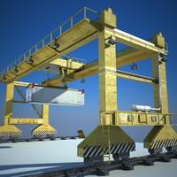3d rmg crane