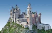 castle landmark 3d 3ds