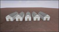 3d model old barn 2  