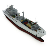 joint support vessel ship 3d model