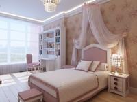 interior girl s bedroom 3d max