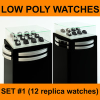 replica watches set 12 3ds