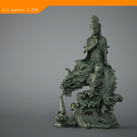 Asian buddha statue