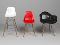 Eames Chairs set