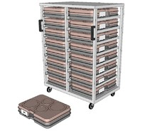thermo tray trolley 3ds