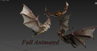 animations bats max