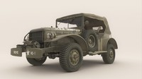 3d army dodge wc-57 command