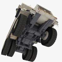 heavy hauler truck mining 3d 3ds
