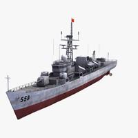 type 053h1g frigate 3d max