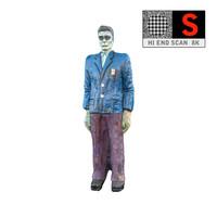 statue lunapark 8k 3d model