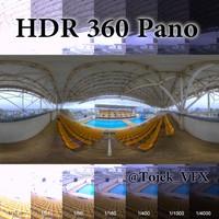 HDR 360 Pano Olympic Aquatic stadium02 Maria Lenk
