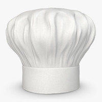 realistic chef hat 04 max