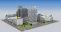 hdrt city block c 3d max