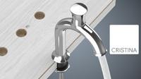 3d taps water corona model