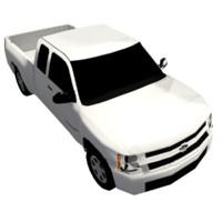 obj 4x4 pickup truck
