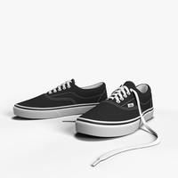 vans shoes 3d model