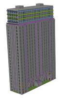 3d model casino hotel