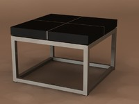 black table magnum 3d model