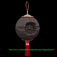 3d model chinese lantern chocolate