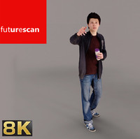 3d model of photorealistic