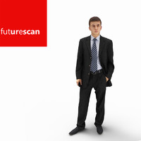 3d man businessman business