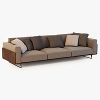 3d model of roche bobois sofa